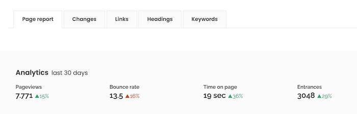 site guru page analysis