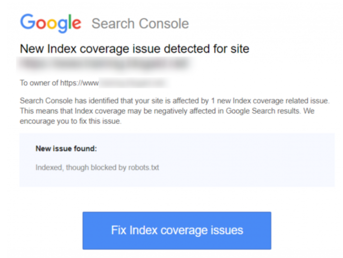 robots txt issue google search console